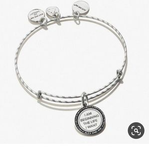 """ALEX AND ANI """"PAINT EMBOSSED NEW BEGINNINGS"""" NWT!!"""